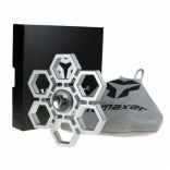 Yomaxer Fidget Spinner Snowflake Shape Aluminum alloy Material EDC Focus Toy (YmxS8)