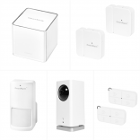 iSmartAlarm Home Security System - Pan & Tilt Video Bundle