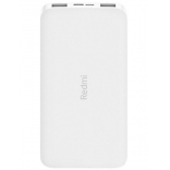 Внешний аккумулятор Xiaomi Mi Redmi Power Bank Fast Charge PB100LZM 10000 mAh (Белый)