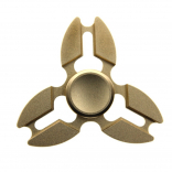 Yomaxer Crab Leg Tri-Spinner Fidget Toy Aluminum alloy Material R188 Bearing ADHD EDC toy (MB0414)
