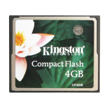 Карта памяти Kingston CF CompactFlash 4Gb