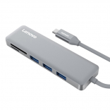 Концентратор 5 в 1 Lenovo USB-C to USB 3.0 Adapter C605 (Серый)