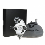 Yomaxer Stainless Steel Eagle Fidget Spinner Multifunciton EDC Tool(YmxE9)