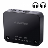 Bluetooth передатчик Avantree Audikast TC418 aptX Low Latency