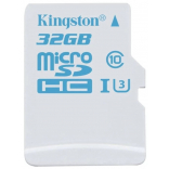 Карта памяти Kingston microSDHC Action Camera UHS-I U3 SDCAC/32Gb