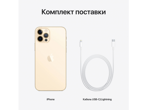 Смартфон Apple iPhone 12 Pro A2407 256Gb (Золотой) фото 2