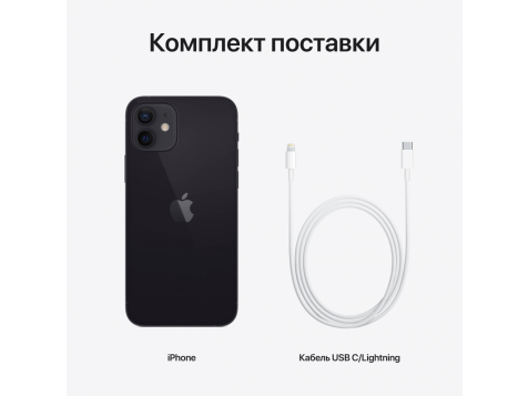 Смартфон Apple iPhone 12 A2403 64Gb (Черный) фото 2