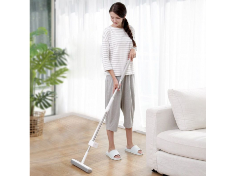 Швабра Xiaomi Mi Blue Fish 180 Cotton Mop (Серая) фото 7